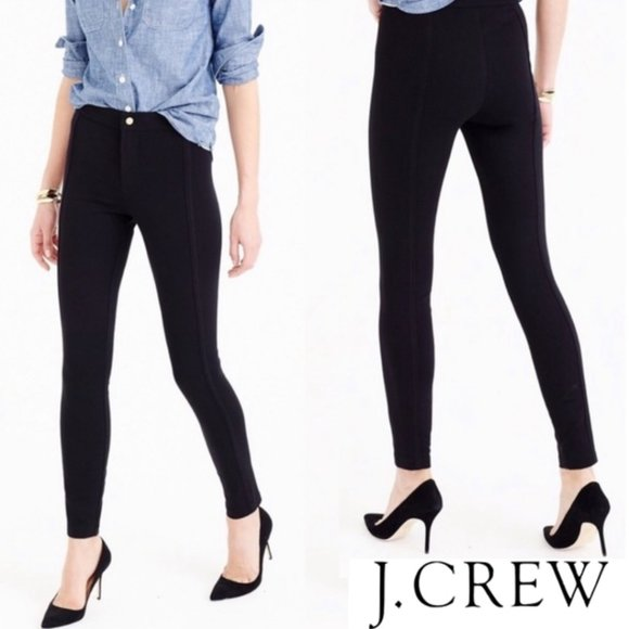 J.CREW Pixie Pant Equestrian Vibes Front Seams 8S